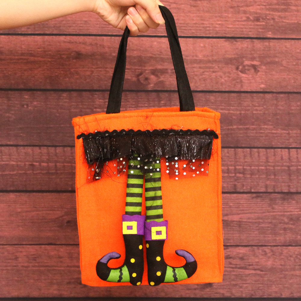 happy halloween kids cute witches candy bag packaging children party