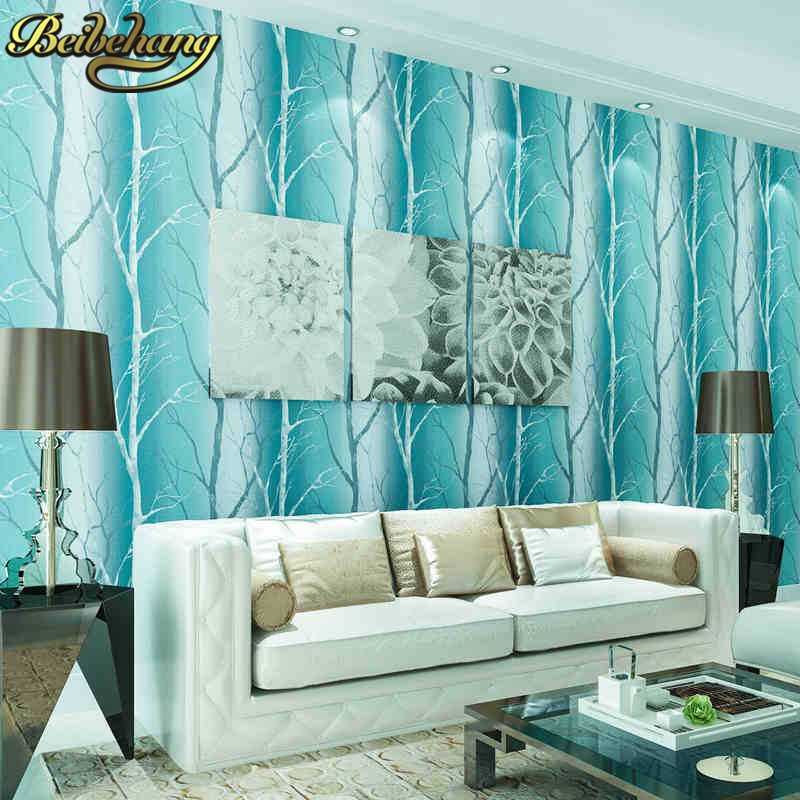 beibehang papel de parede 3d Simple branches wallpaper for walls 3 d contact-paper living room bedroom wall papers home decor beibehang papel de parede 3d dimensional relief korean garden flower bedroom wallpaper shop for living room backdrop wall paper