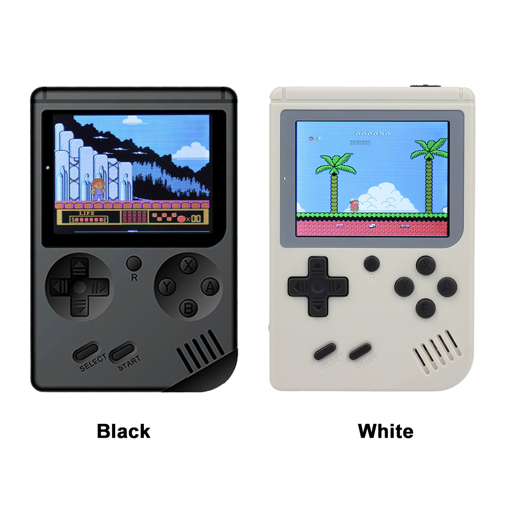 AV Port MINI Video Game Console 3.0 inches Portable Handheld Game Player Built-in 168 Games Video Games Best Gift For Kids 4