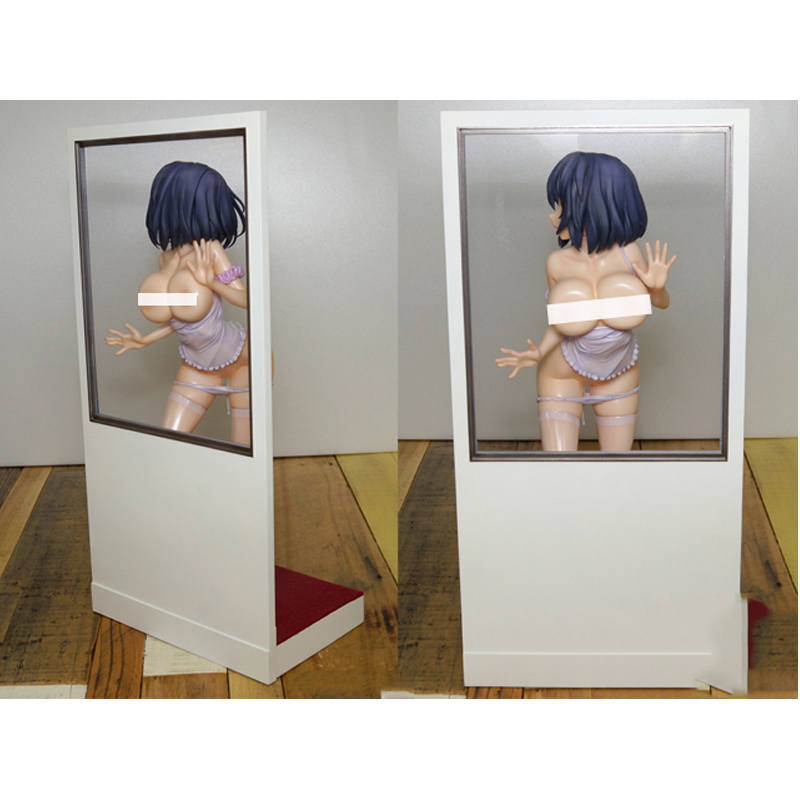 26cm Anime Native Oshitsukes Glass Girl Gentleman Ver Cute Sexy Girl PVC Action Figure Collectible Model Doll Toy With Box 02