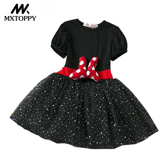 summer children clothing baby girl christmas dress girls party princess dress minnie mouse dress kids clothes
