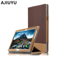 AJIUYU Case For Lenovo Tab 4 10 Plus Smart Cover Tab410plus Protective Protector Leather PU TB