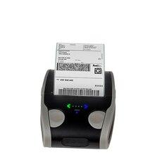 안드로이드 IOS 모바일 열 라벨 프린터 미니 휴대용 58mm 바코드 QR 스티커 용지 포켓 블루투스 프린터