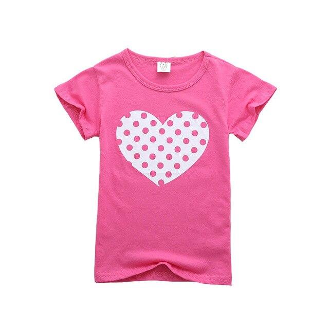 הדפסת קריקטורה תינוק נערי חולצה קיץ ילדים בני בנות חולצות בגדי פעוטות כותנה פעוט ילדה חולצות בנות חולצה