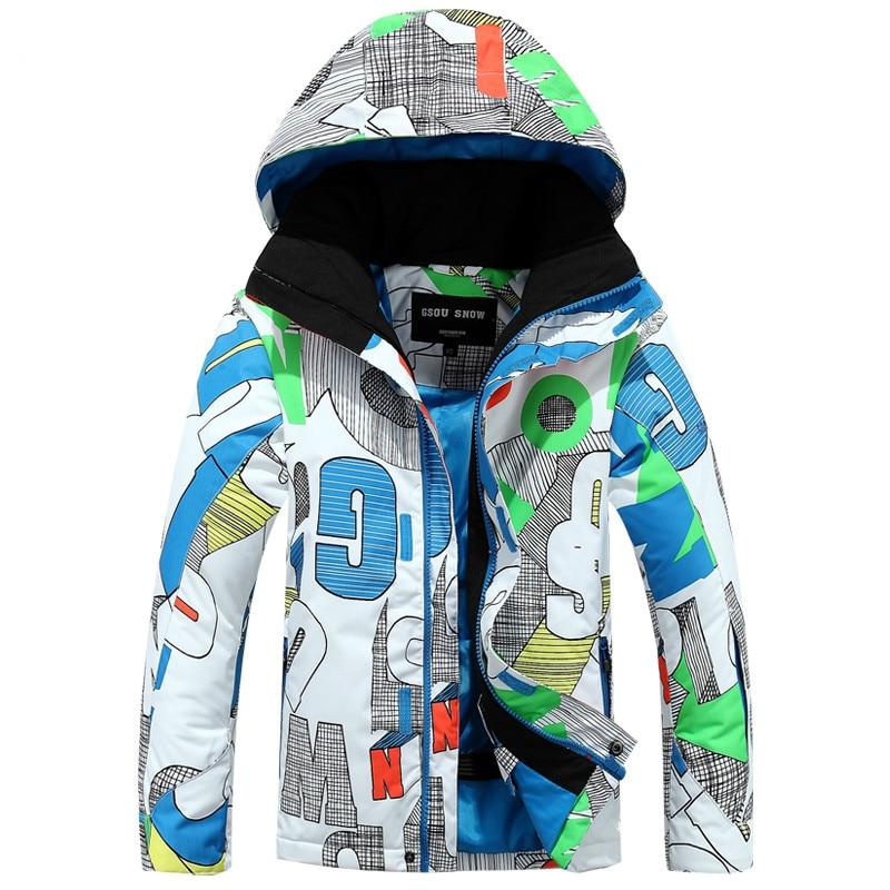 Prix pour NIUMO Nouveau Ski costume Enfants de vêtements Garçon avec haut de gamme en plein air Vent preuve respirant