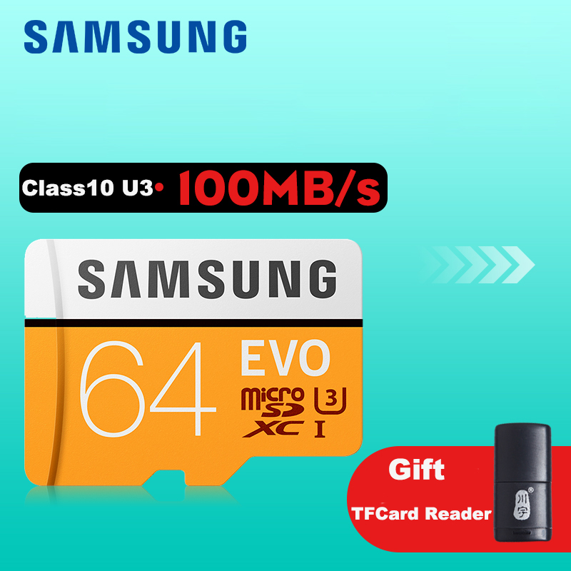 SAMSUNG Micro SD 64gb Memory Card Class10 SDXC UHS-I SD Cards Trans Microsd Cartao de Memoria Tarjeta TF Card For Mobile Phone