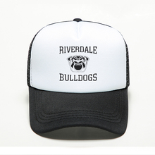 New Fashion River Valley Town Bulldogs Printing Baseball Caps Women and Man Personality Statement Mesh Adjustable Multi Colors