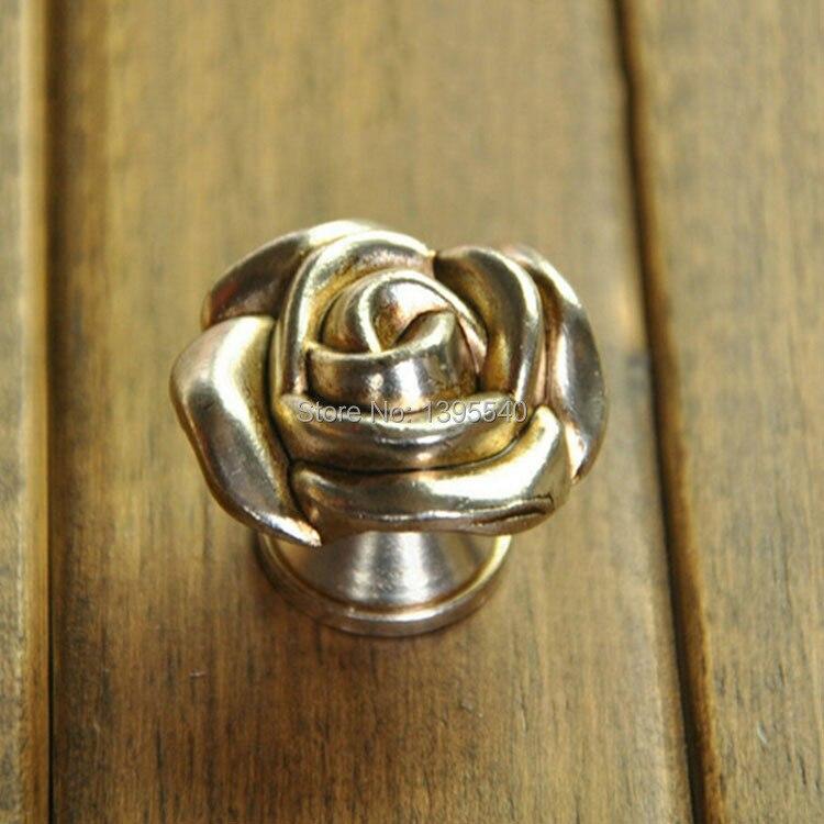 ᑐ35mm cajón Euro-estilo aparador Muebles Rose perillas armario ...