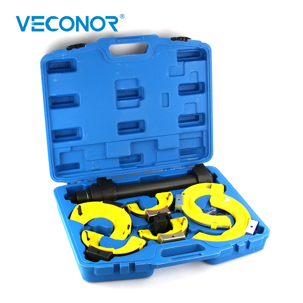 10pcs New Style Strut Coil Spring Compressor Dumper Extractor Tools Set Hand Tool Kit coil spring compressor jaws holder removal tool