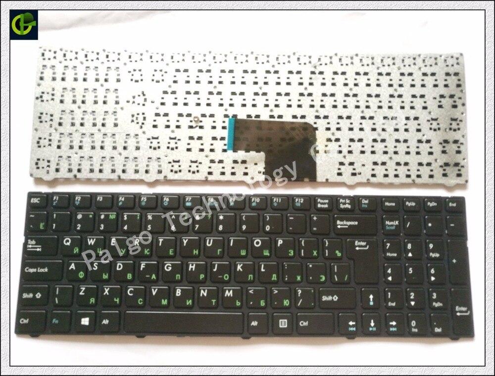 Russian RU Keyboard for DNS Pegatron C15 C15A C15E C17A C15B 0KN0-CN4RU12 MP-13A83SU-5283 0803498 KLAVYE PG-C1 black with frame