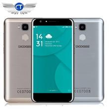 Origine Doogee Y6 5.5 Pouce Android 6.0 MT6750 Octa Core 4G Mobile Téléphone 2 GB RAM 16 GB ROM 3200 mAh D'empreintes Digitales 13.0MP Smartphone