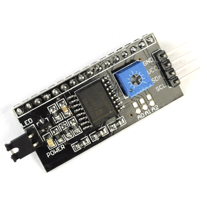 10pcs LCD1602 Converter Board IIC/I2C/TWI/SPI Serial Interface Module for 1602 LCD Display for Arduino