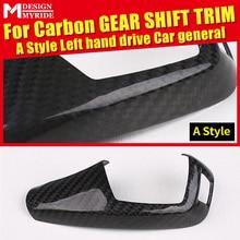 For BMW F22 Gear Shift Cover 2-Series 220i 228i 230i 230ixD 235i Left hand drive Carbon Fiber Knob Decoration A-Style