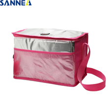 SANNE Waterproof Thermal Cooler Bag Food for Hot/Ice Portable Classical Insulated Ice Bag for Men Women Picnic Food Cooler Bag недорого