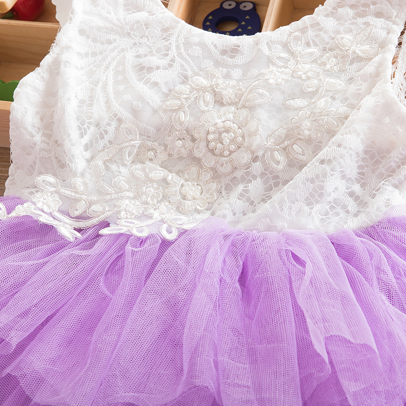 HTB1RkUId8jTBKNjSZFDq6zVgVXaL Summer Dresses For Girl 2018 Girls Clothing White Beading Princess Party Dress Elegant Ceremony 4 5 6 Years Teenage Girl Costume