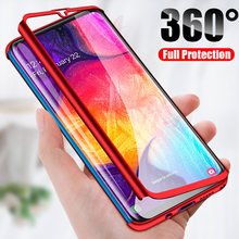 H&A Luxury 360 Full Cover Phone Case For Samsung Galaxy A30 A50 A10 A20 M10 M20 Anti-knock Phone Cover A20 A50 Case Fundas Capa(China)