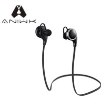 Aniwk Bluetooth headset wireless headset English voice sports headset Bluetooth headset microphone and other millet and so on