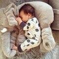 Corpo do bebê travesseiro Elefante Cama de Bebê Almofada Do Assento de Carro Crianças Travesseiro de enfermagem Do Bebê de pelúcia macia brinquedo Berço Cama Dobrável Portátil conjunto