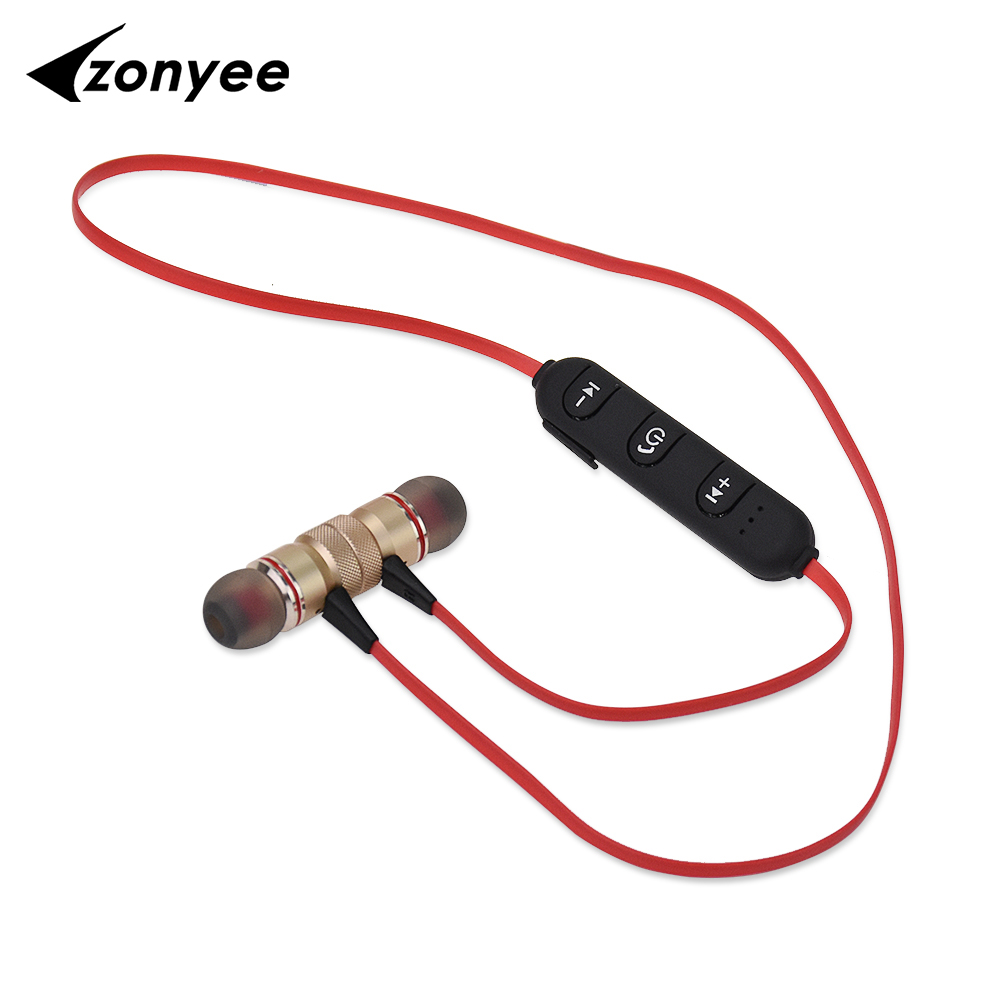 LY11 Zonyee Bluetooth headset Sport Magnetic Wireless Bluetooth earphone With Mic Headphone For Mobile Phone iPhone x Xiaomi A1 lymoc v8s business bluetooth headset wireless earphone car bluetooth v4 1 phone handsfree mic music for iphone xiaomi samsung