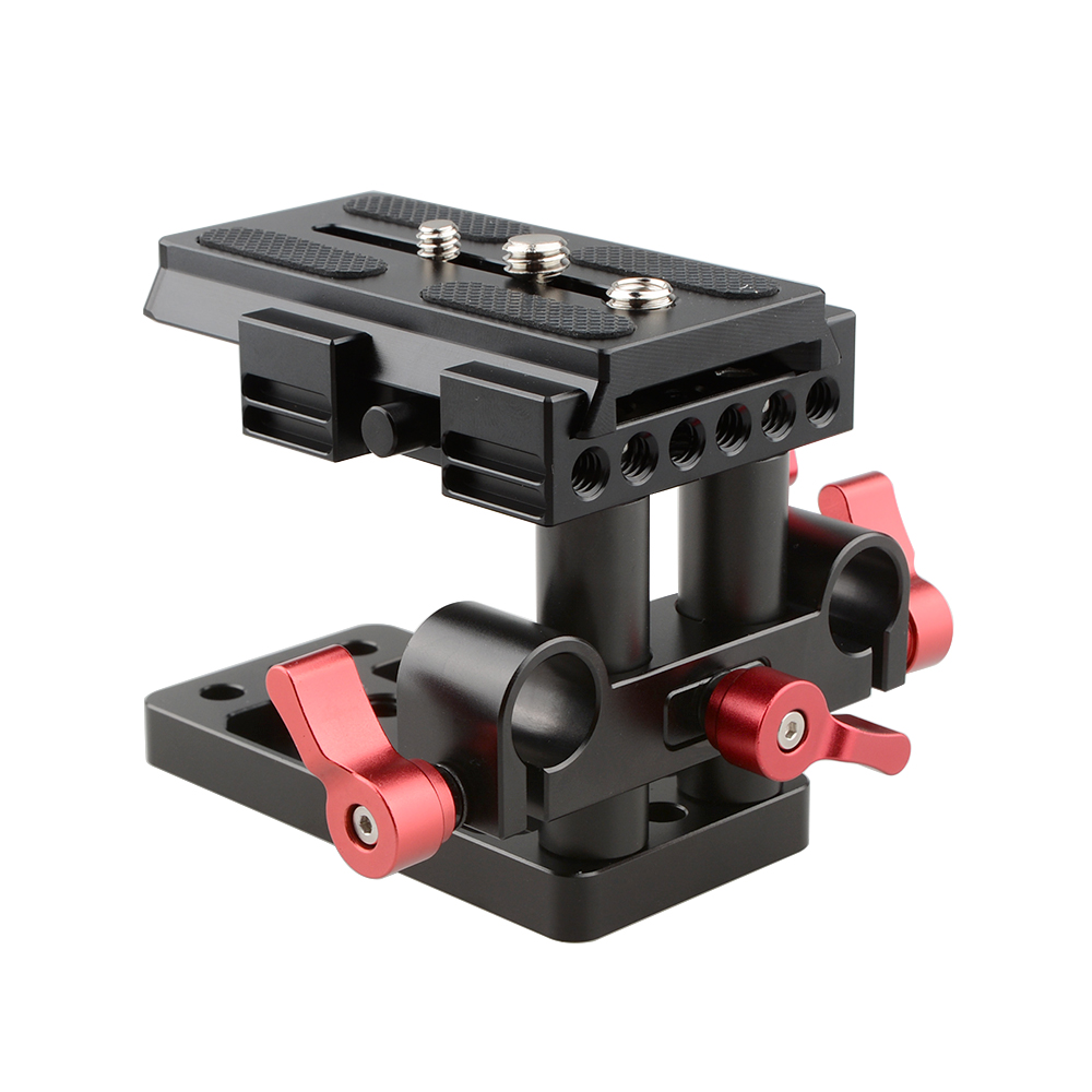 CAMVATE Quick Release Mount Base QR Plate for Manfrotto Standard Accessory цена