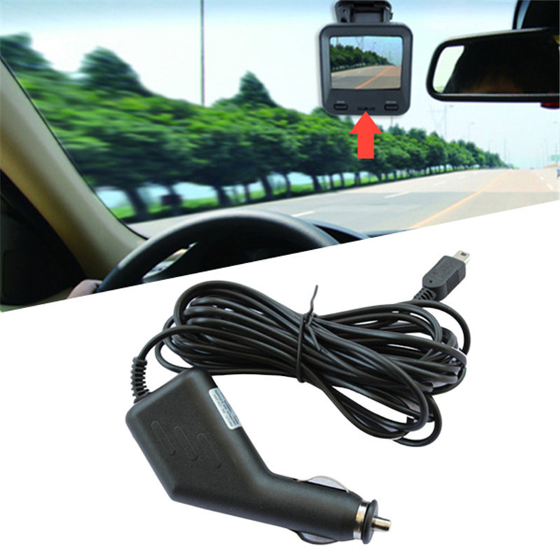 Portable 4M General GPS Navigator Power Cord Car Charger Auto Video Recorder USB Charger