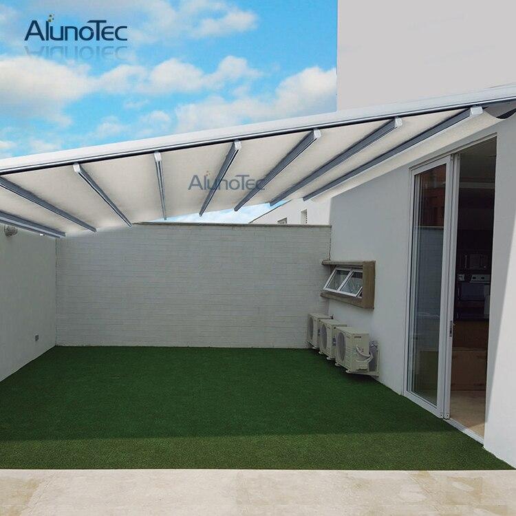 Automatiquement Mural Rétractable Auvent Patio Couvert 3 M Largeur X