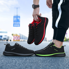 ERNESTNM Mesh Women Casual Shoes Lace-up Men Shoes