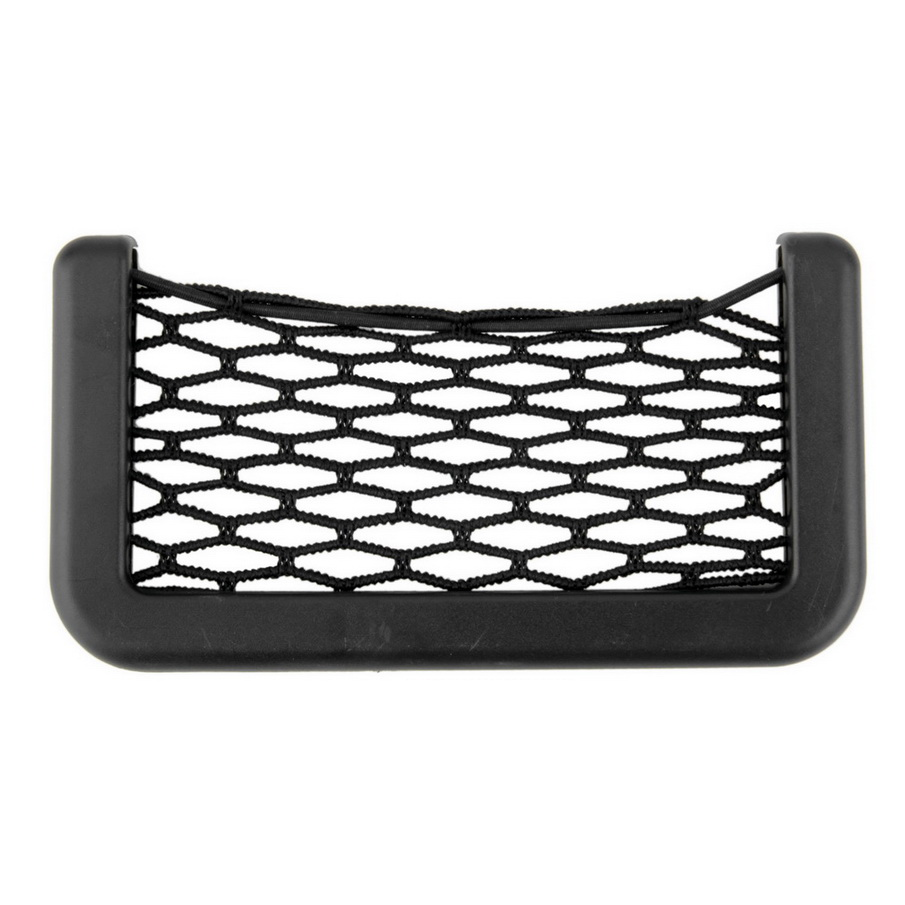 New Car Net Bag Car Organizer Nets 15X8cm Automotive Pockets With Adhesive Visor Car Bag ...