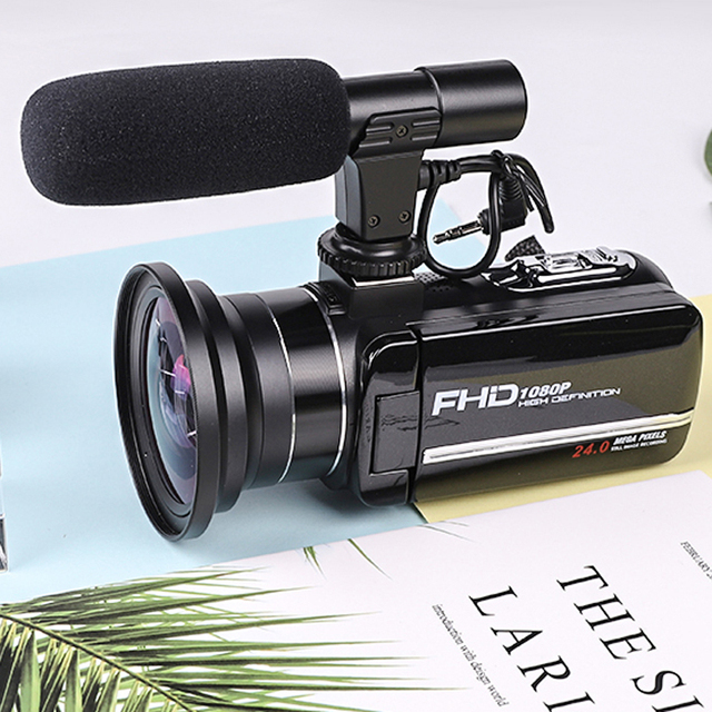 Komery Genuine Original DV-02 Video Camera 3.0 inch Touch Screen 2400w Pixel 8X Digital Zoom Support WiFi Three-year warranty 4