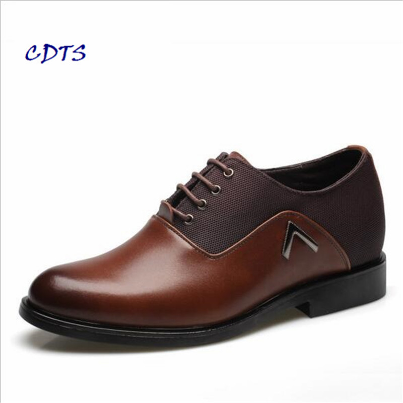 2017 Men shoes high quality Split Leather Breathable zapatos hombre Dress/Wedding Comfortable Party Chaussure home Free Shipping ...