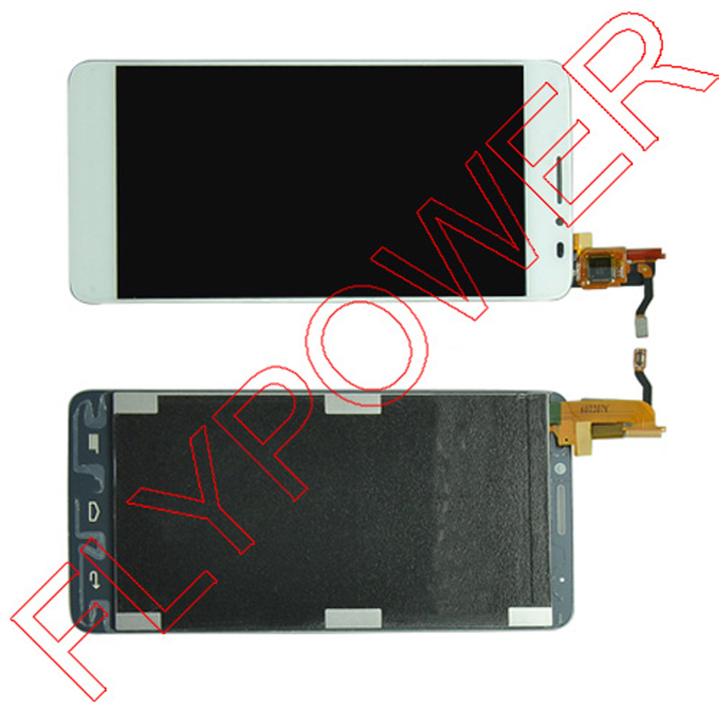 FOR Alcatel One Touch Idol X OT6040 6040 6040D 6040E 6040A LCD Display Touch Screen Digitizer Assembly; White; 100% Warranty