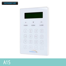HOMSECUR Wireless Two way Password Keypad A15 for Home Alarm System