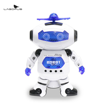 Buy Lagopus Rotating Robot Dancing Fun Humanoid robot Electronic Robot Toys with Music and Light Toys Astronaut Best Gift for Kids directly from merchant!