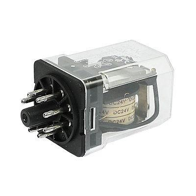 Подробнее о JQX-10F-2Z Coil DC 24V 8 Pin DPDT 2NO 2NC Electronmagnetic Relay free shipping dc 12v coil electromagnetic relay 8 pins dpdt 2 no 2 nc jqx 10f 2z