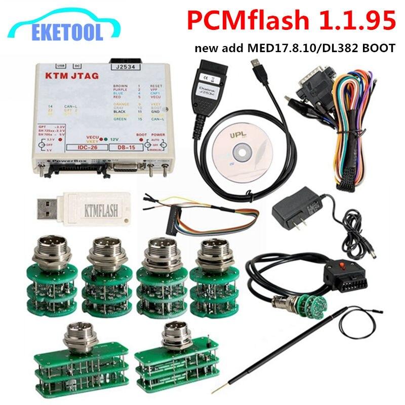 PCMFlash V1.1.95 KTMFLASH ECU Programador ECU Atualização de Poder Caixa de Transmissão Nova KTM DiaLink J2534 Transferência Rápida de Flash ECU