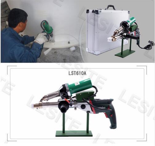 Hot Air Welding Machine LST610A Pipeline Portable Extrusion Plastic Welding Torch Machine Extrusion Type Plastic Welding Gun