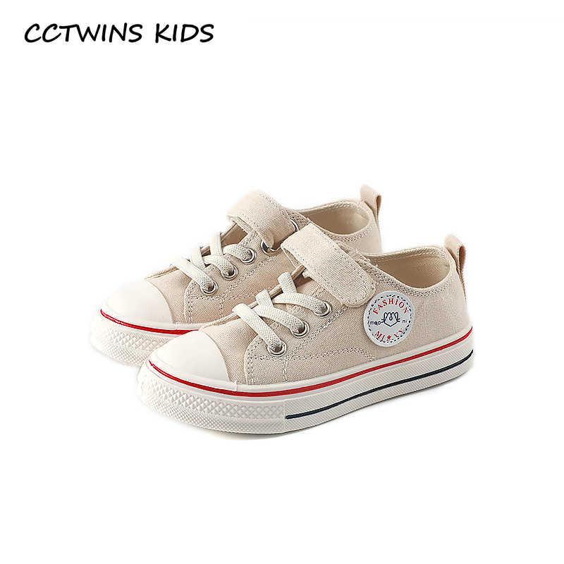 CCTWINS Çocuk Ayakkabı 2019 Sonbahar Moda Kız Siyah spor ayakkabı Erkek Nefes Beyaz Sneakers Çocuklar için Bebek Eğitmenler FC2608