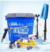 Высокого давления водяной пистолет мойки насос для чистки автомобилей машина 12 В бытовой 55 Вт портативный электрический стиральная устройство