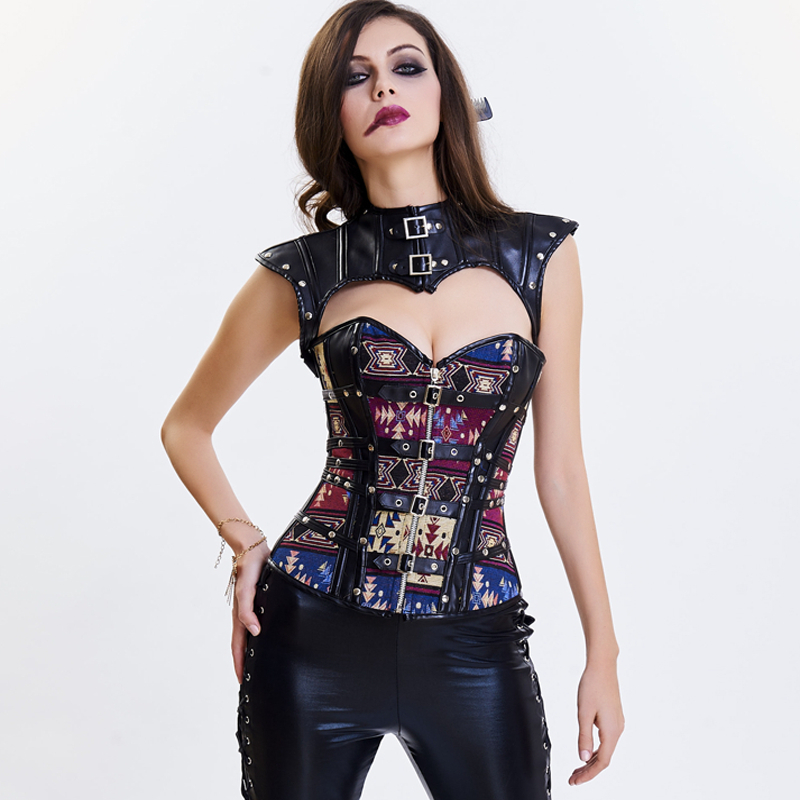 Bustier     Corset   Gothic clothes Gothic Steampunk Corselet   Corset   Slimming Shaper Body Shapers Women   Corsets   Slimming Waist trainer