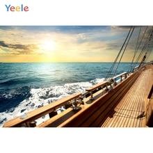 Yeele On The Ship For Photo Studio Photographic Backgrounds Summer Sea Wedding Shoot Photography Backdrops Shooting