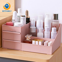 Cosmetic Storage Box Drawer Desktopplastic Makeup Dressing T