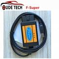 (Para Ford Focus/Fusão/Mondeo/Fiesta/KA/Transit) Interface Para Ford Scanner USB F-Super Ferramenta de Digitalização Gasolina + Diesel Carro