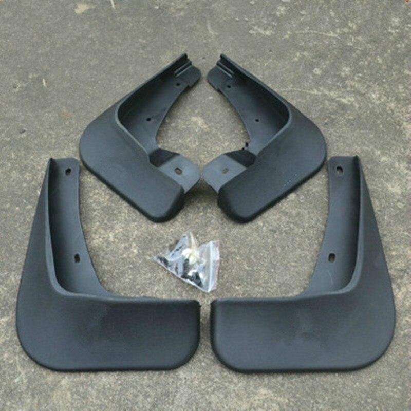 Высококачественные мягкие пластиковые Брызговики брызговик крыло автомобиля Стайлинг для 2010 15 Mitsubishi Lancer EX