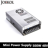 Mini Switching Power Supply 500W 48v 10A Single Output Voltage Converter For Led Strip AC110V