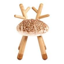 Ashwood children solid wood bench baby birthday gift cartoon chair round stool kindergarten