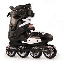 Japy paten 100% orijinal SEBA FRMX profesyonel Slalom tek sıra tekerlekli paten yetişkin rulo kayak ayakkabıları sürgülü ücretsiz paten Patines