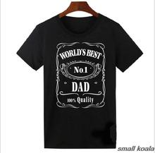 Fathers Day T-Shirt Worlds Best Dad Papa T Shirt