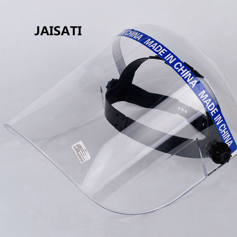 JAISATI organic Labor protection dust protective masks Dust mask chemical protection masks jaisati transparent dust proof welding hood headset mask abor protection protection surface screen splash mask