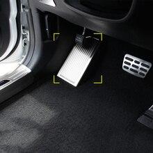 1 шт. Нержавеющаясталь левой ног педали отделка внутреннего убранства Блёстки для Kia Sportage 4 QL 2016 2017 2018 автомобилей стиль
