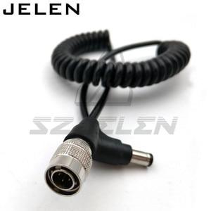 Image 2 - DC5.5/2.5 A Hirose pin Maschio Plug Power Cavo A Spirale Per Dispositivi Audio Zaxcomn F8